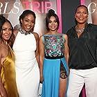 Jada Pinkett Smith, Queen Latifah, Regina Hall, and Tiffany Haddish at an event for Girls Trip (2017)