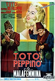 Toto, Peppino, and the Hussy Poster