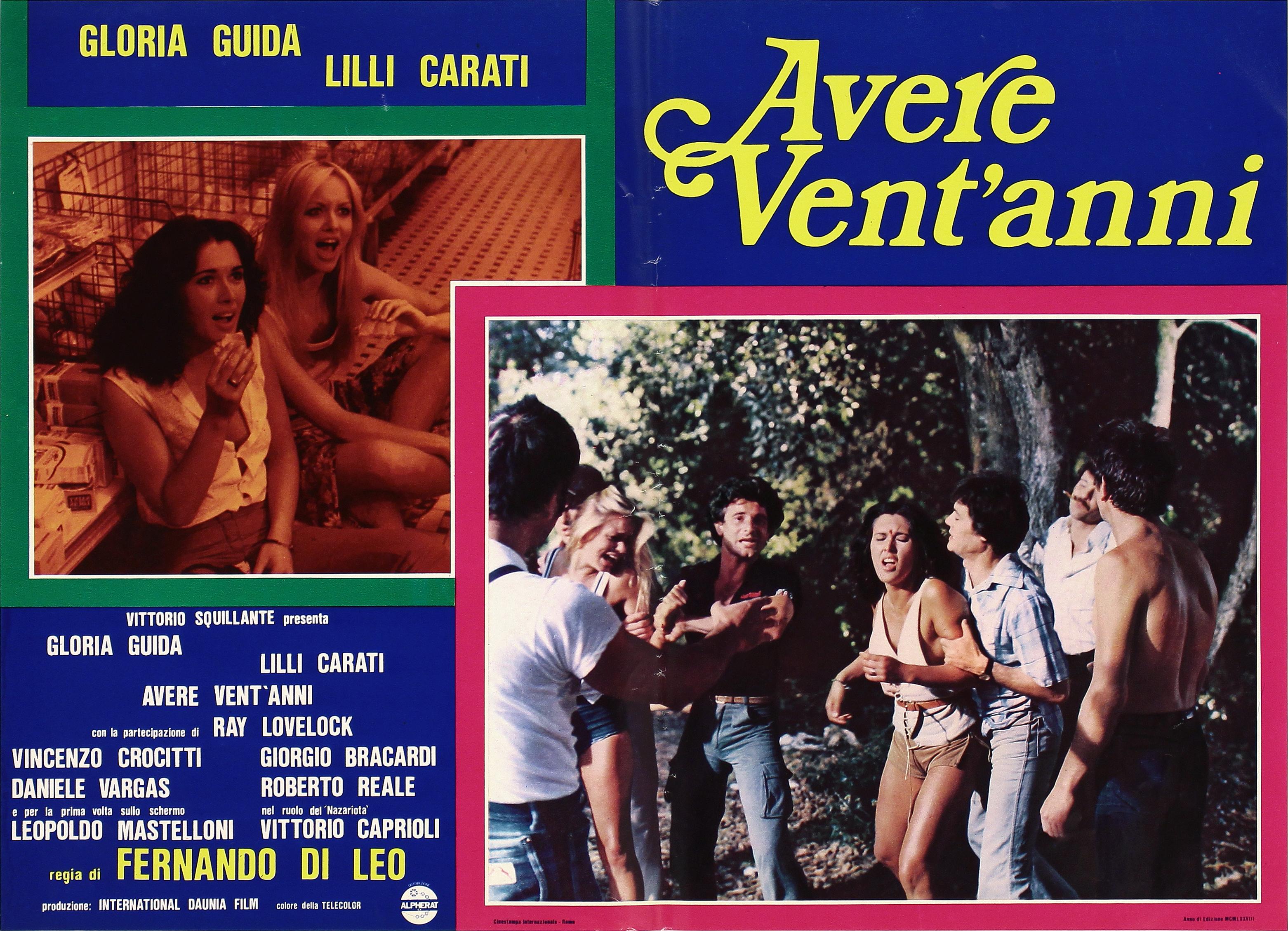 Lilli Carati and Gloria Guida in Avere vent'anni (1978)