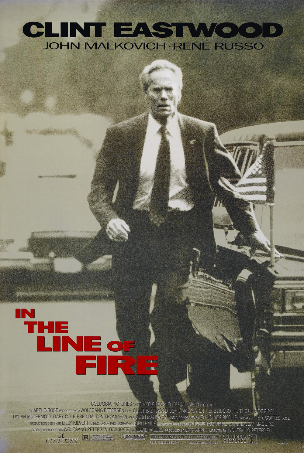In the Line of Fire (1993) BluRay 480p, 720p & 1080p