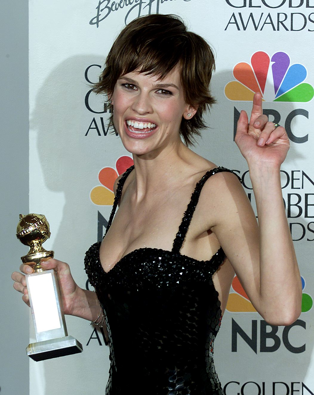 Hilary Swank at an event for Boys Don't Cry (1999)