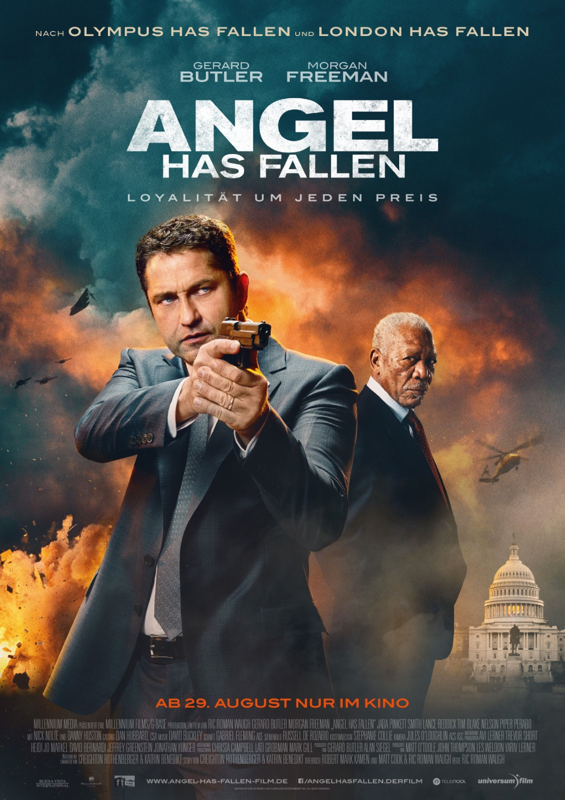 Angel Has Fallen 2019 Hindi ORG Dual Audio 720p BluRay ESubs 1.1GB x264 AAC