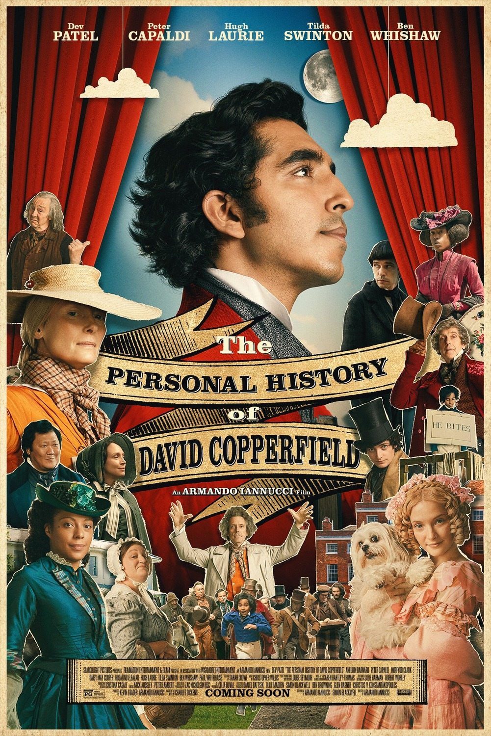 The Personal History of David Copperfield (2019) Unofficial Hindi Dubbed HDRip 720p Esubs DL
