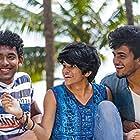 Ashwinjith, Sharukh Ahmed, Sowmith Yadav, and Maya S. Krishnan in My Son Is Gay (2019)