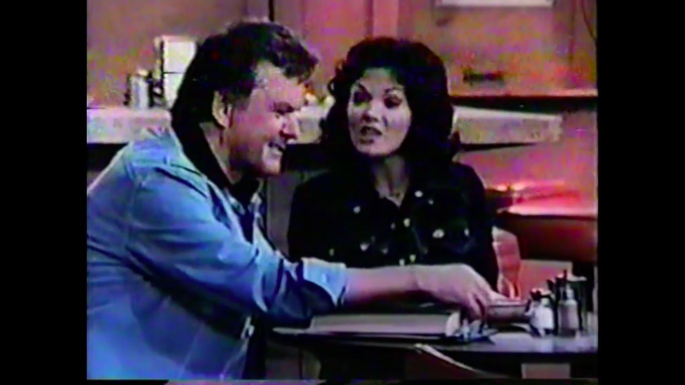 Bob Crane and Trisha Noble in The Bob Crane Show (1975)