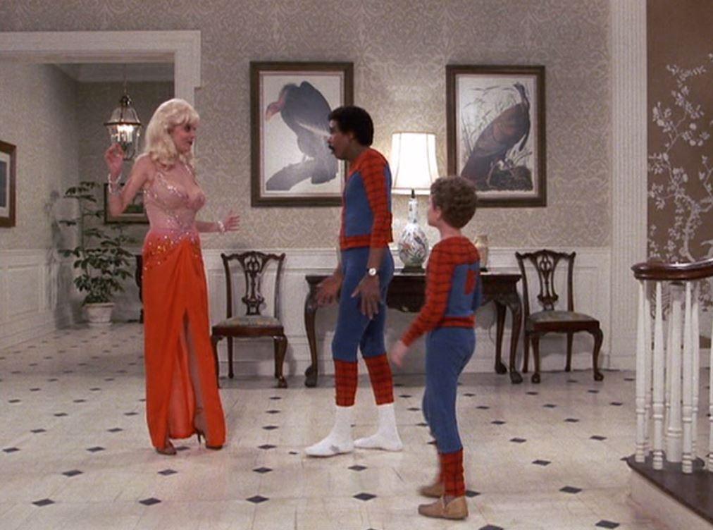 Richard Pryor, Teresa Ganzel, and Scott Schwartz in The Toy (1982)