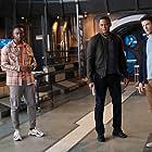 David Ramsey, Grant Gustin, and Brandon McKnight in P.O.W. (2021)
