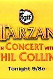 Tarzan in Concert with Phil Collins Poster