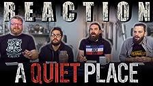 A Quiet Place (2018) ¡REACCIÓN DE PELÍCULA!