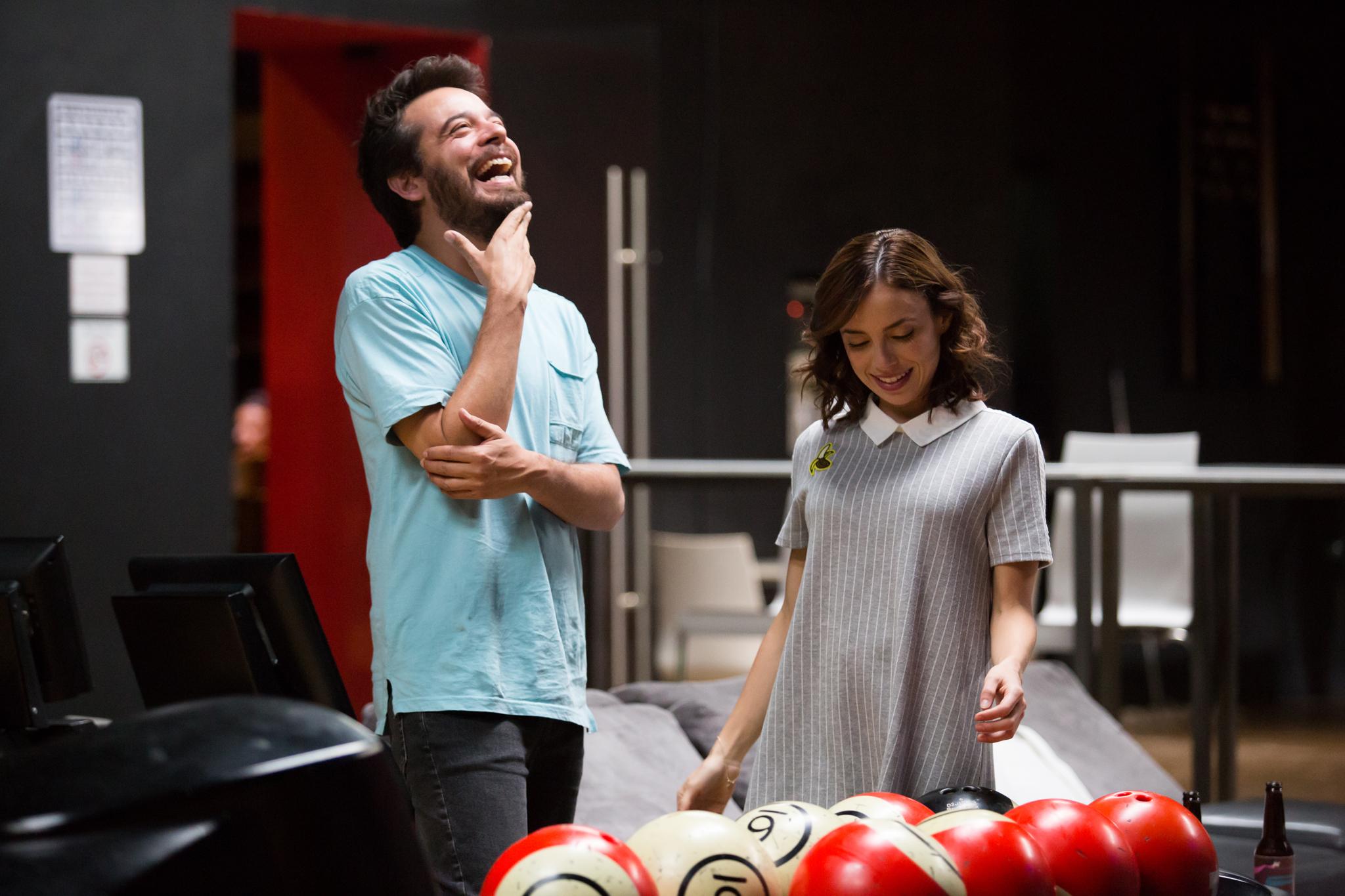 Marcela Guirado and Leonardo Ortizgris in ¿Conoces a Tomás? (2019)