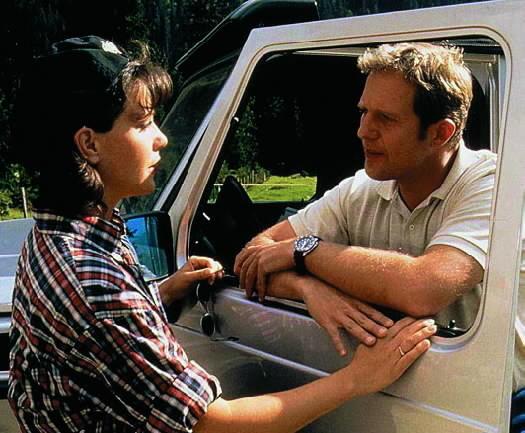 Janina Hartwig and Harald Krassnitzer in Der Bergdoktor (1992)