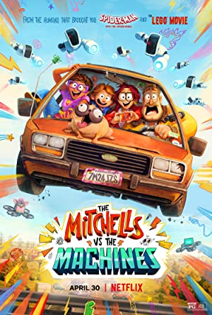 The Mitchells vs. the Machines (2021) Dual Audio [Hindi+English] Bluray Download | 480p [400MB] | 720p [1GB] | 1080p [2.3GB]