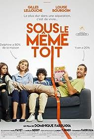 Gilles Lellouche and Louise Bourgoin in Sous le même toit (2017)