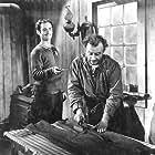 Henri Poitras and Guy Provost in Un homme et son péché (1949)