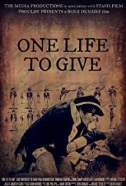 One Life to Give Poster