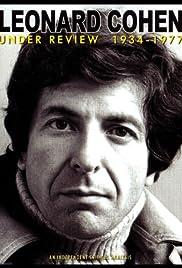 Leonard Cohen: Under Review 1934-1977 Poster