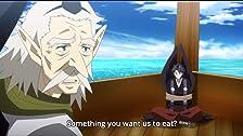 Una grande lotta tra un padre Tengu e suo figlio.