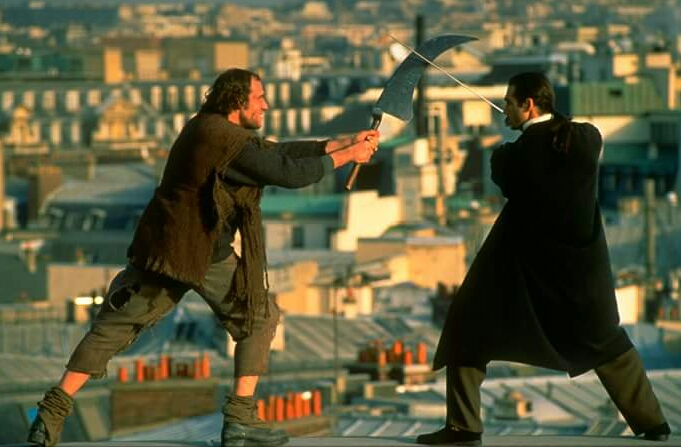 Adrian Paul and Christian van Acker in Highlander (1992)