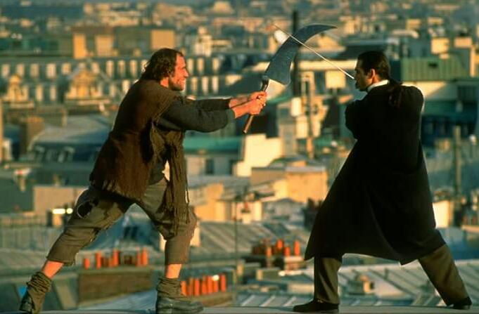 Adrian Paul and Christian van Acker in Highlander (1992)