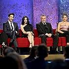Jennifer Aniston, Courteney Cox, Lisa Kudrow, Matt LeBlanc, and David Schwimmer at an event for Friends (1994)