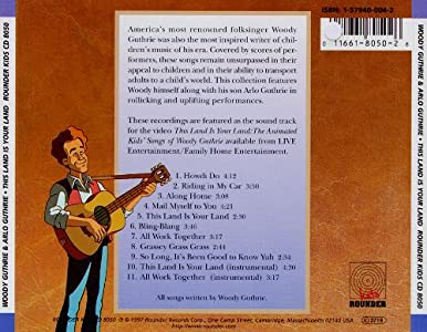 Watch online hollywood movies online This Land Is Your Land: The Animated Kids' Songs of Woody Guthrie none [480x640]