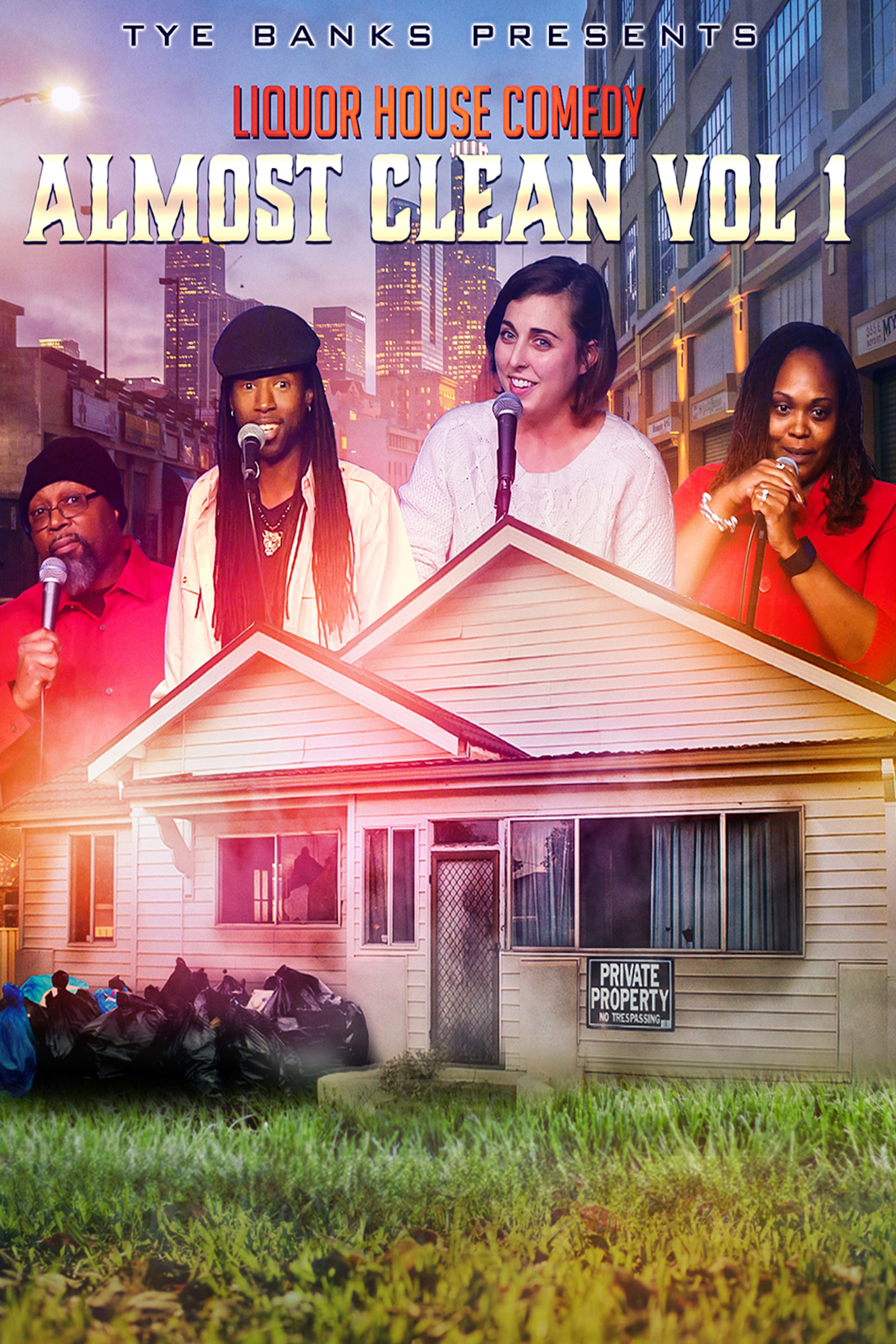 Liquor House Comedy Almost Clean, Vol. 1 on FREECABLE TV