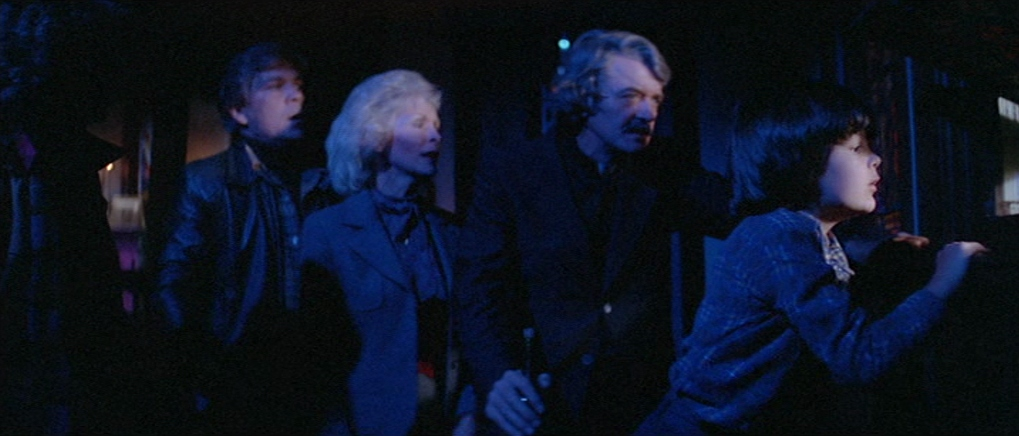 Hal Holbrook, Janet Leigh, Tom Atkins, and Ty Mitchell in The Fog (1980)