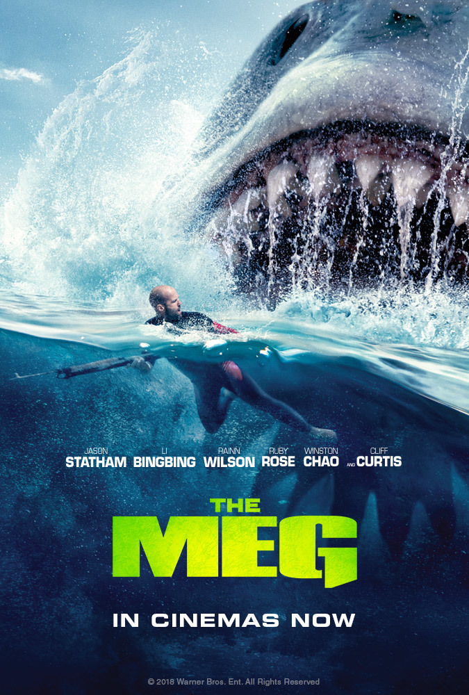 The Meg (2018) Dual Audio 720p HDRip x264 [Hindi – English] ESubs