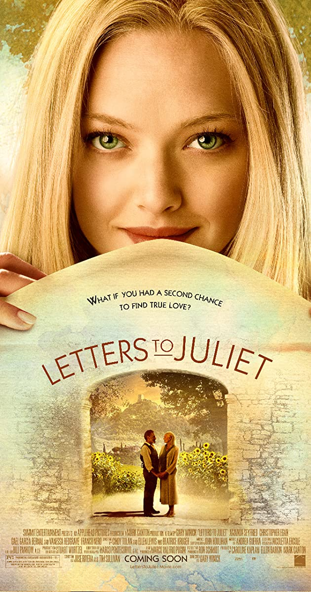 Subtitle of Letters to Juliet