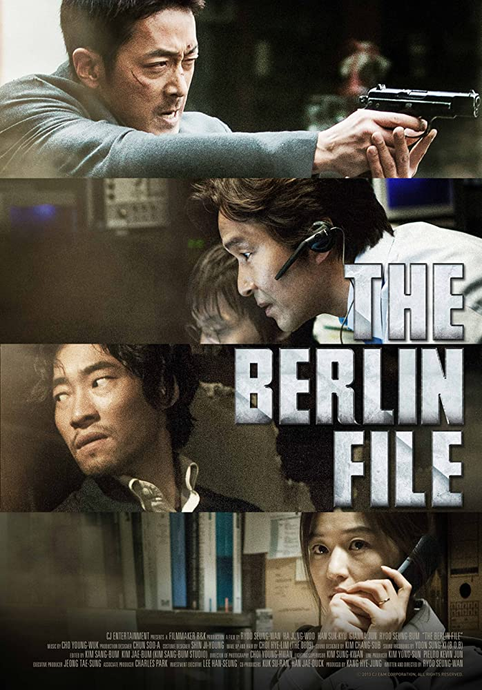 The Berlin File (2013) Korean Duel Audio Movie Hindi-Korean HDRip 720p
