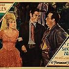 Richard Arlen, Rosita Moreno, and Eugene Pallette in The Santa Fe Trail (1930)