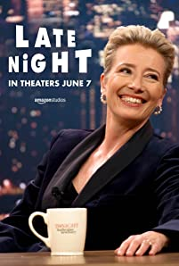 A legendary talk show host (Emma Thompson) on the verge of losing her show hires in a female writer (Mindy Kaling) to help revitalize the program and her career.
