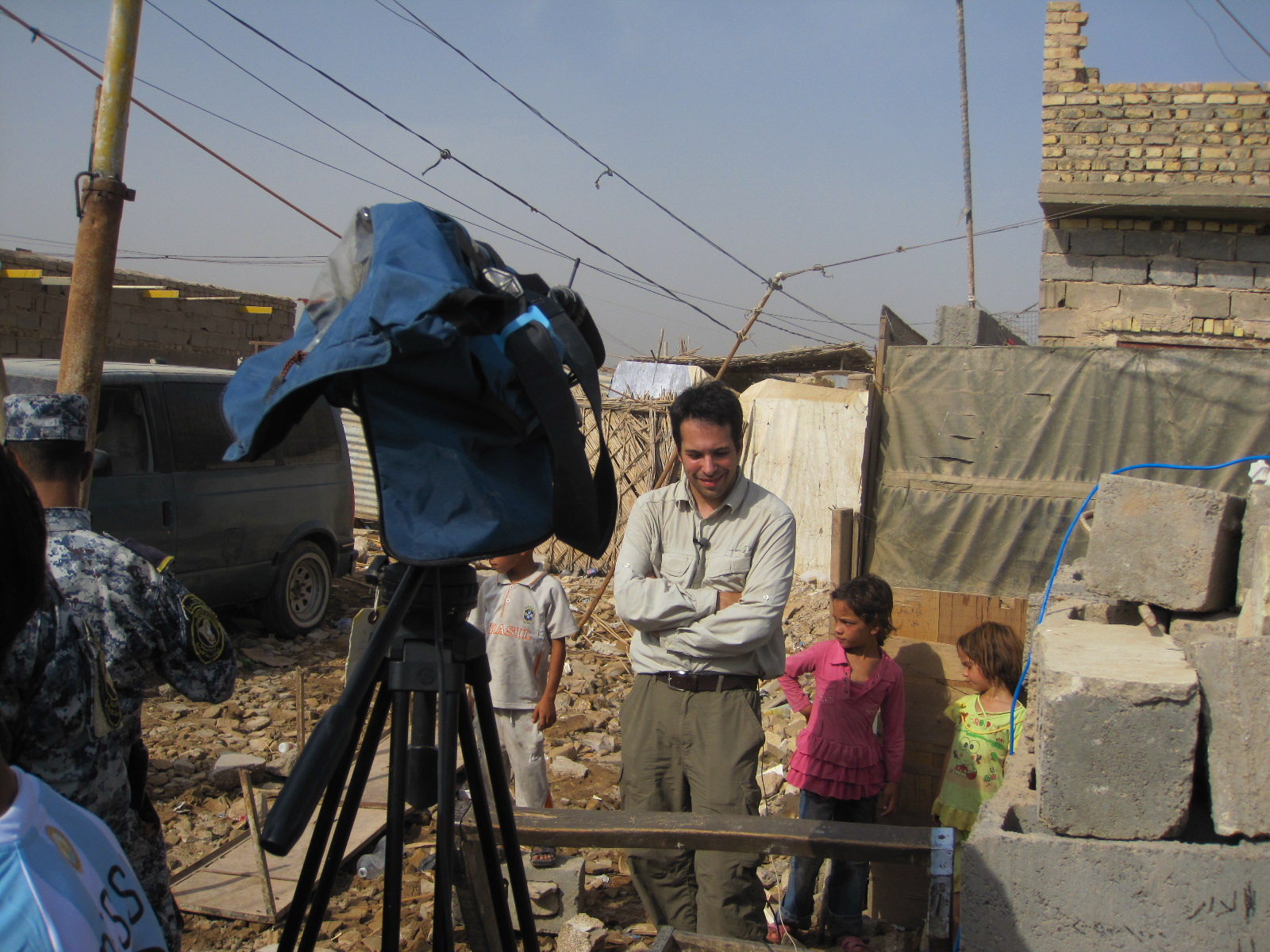 Live report from Baghdad, Iraq 2010