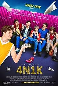 Burak Yörük, Gözde Mutluer, Sina Ozer, Hasan Denizyaran, Cemrehan Karakas, and Cihan Simsek in 4N1K (2017)