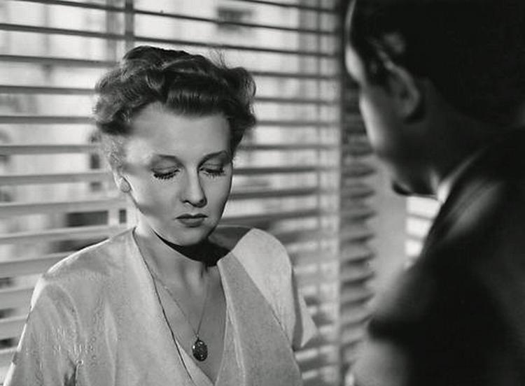Lau Lauritzen and Grethe Thordahl in Det sande ansigt (1951)