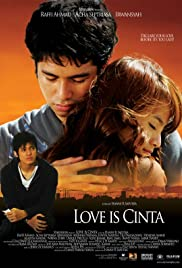 Love Is Cinta Poster