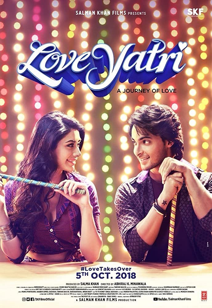 Loveyatri (2018) WebRip Hindi 720p x264 AAC 5.1 ESub