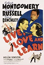 Live, Love and Learn(1937) Poster - Movie Forum, Cast, Reviews