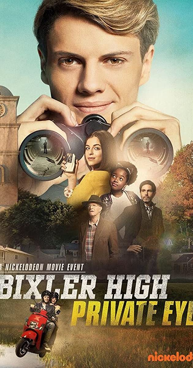 Bixler High Private Eye Tv Movie 2019 Imdb