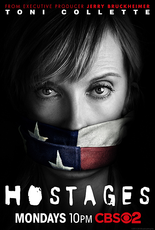 Toni Collette in Hostages (2013)