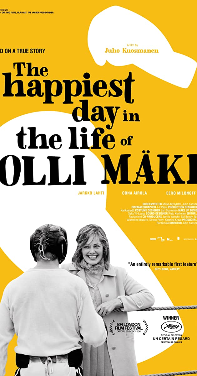 Subtitle of The Happiest Day in the Life of Olli Mäki