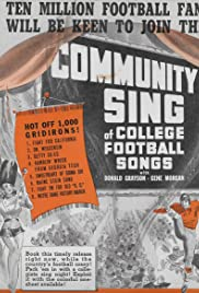 Community Sing: Series 2, No. 3 - College Football Songs Poster