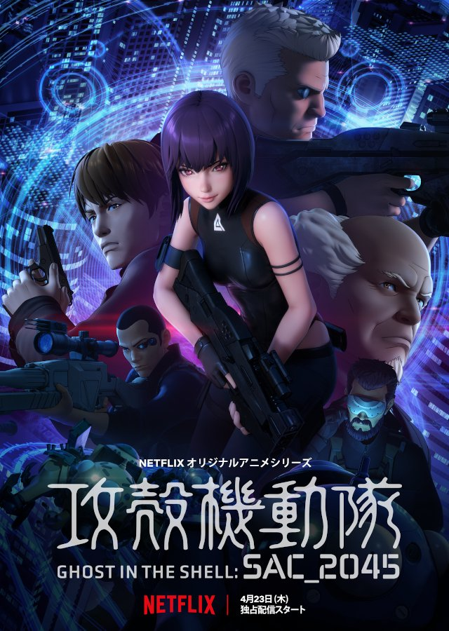 Ghost in the Shell SAC_2045 (2020) Titles: Ghost in the Shell SAC_2045 Languages: English, Japanese
