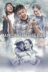 Christine Hakim, Bunga Zainal, Dimas Anggara, and Deva Mahenra in Dancing in the Rain (2018)