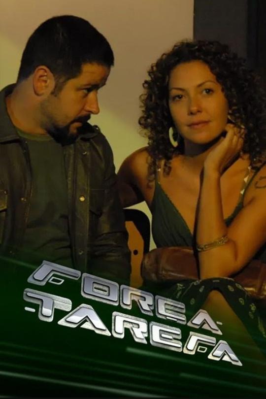 Murilo Benício and Fabiula Nascimento in Força-Tarefa (2009)