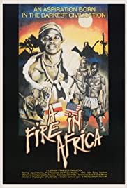 A Fire in Africa Poster