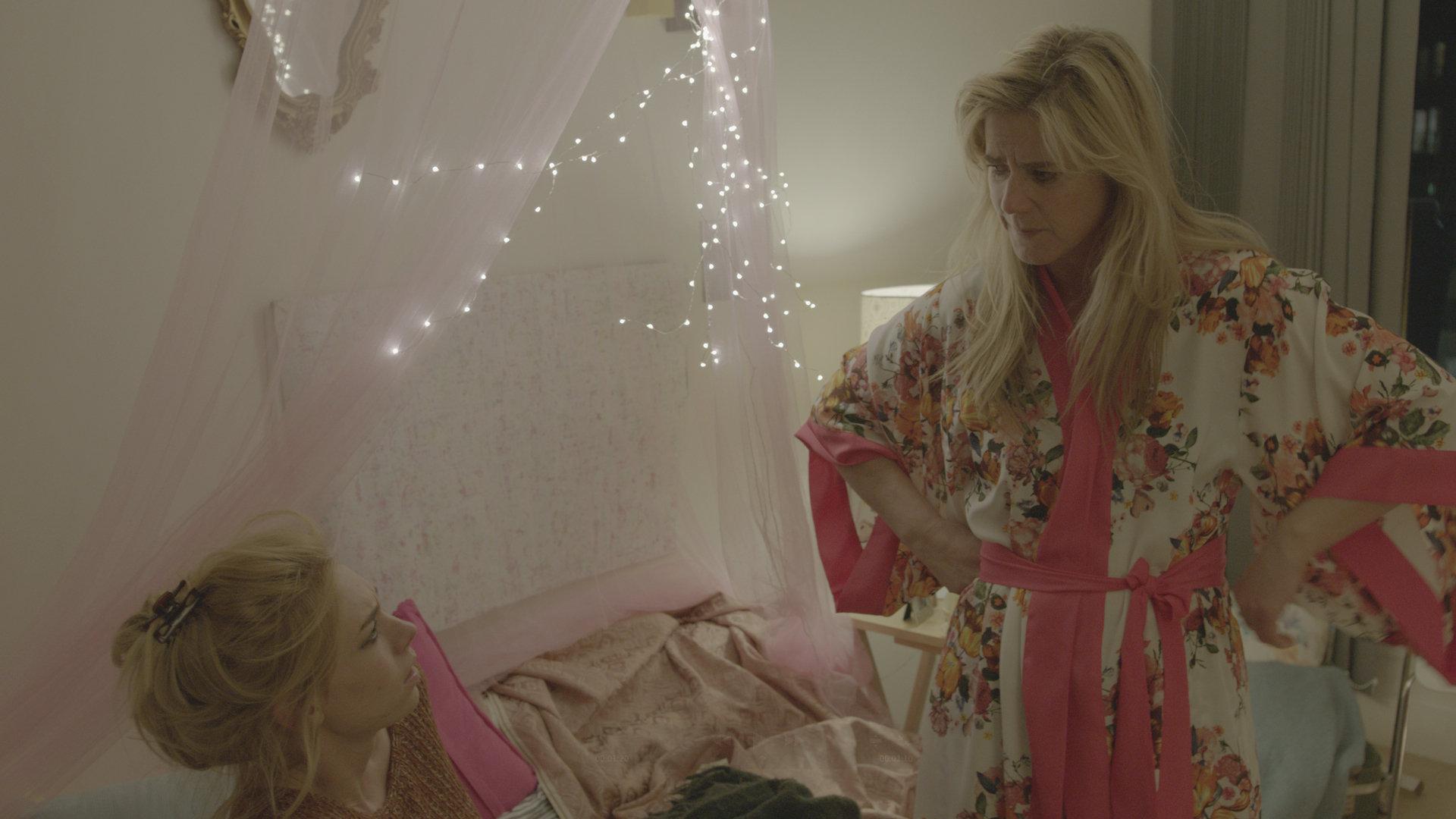 Imogen Stubbs and Vanessa Kirby in Insomniacs (2014)