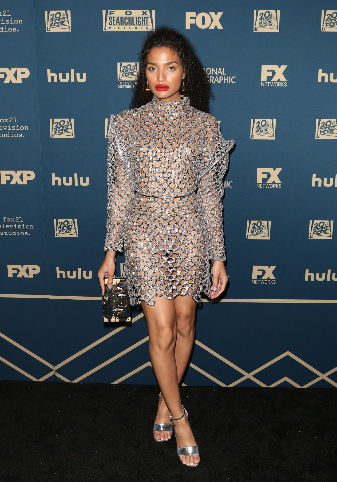 Indya Moore at an event for The 76th Annual Golden Globe Awards 2019 (2019)