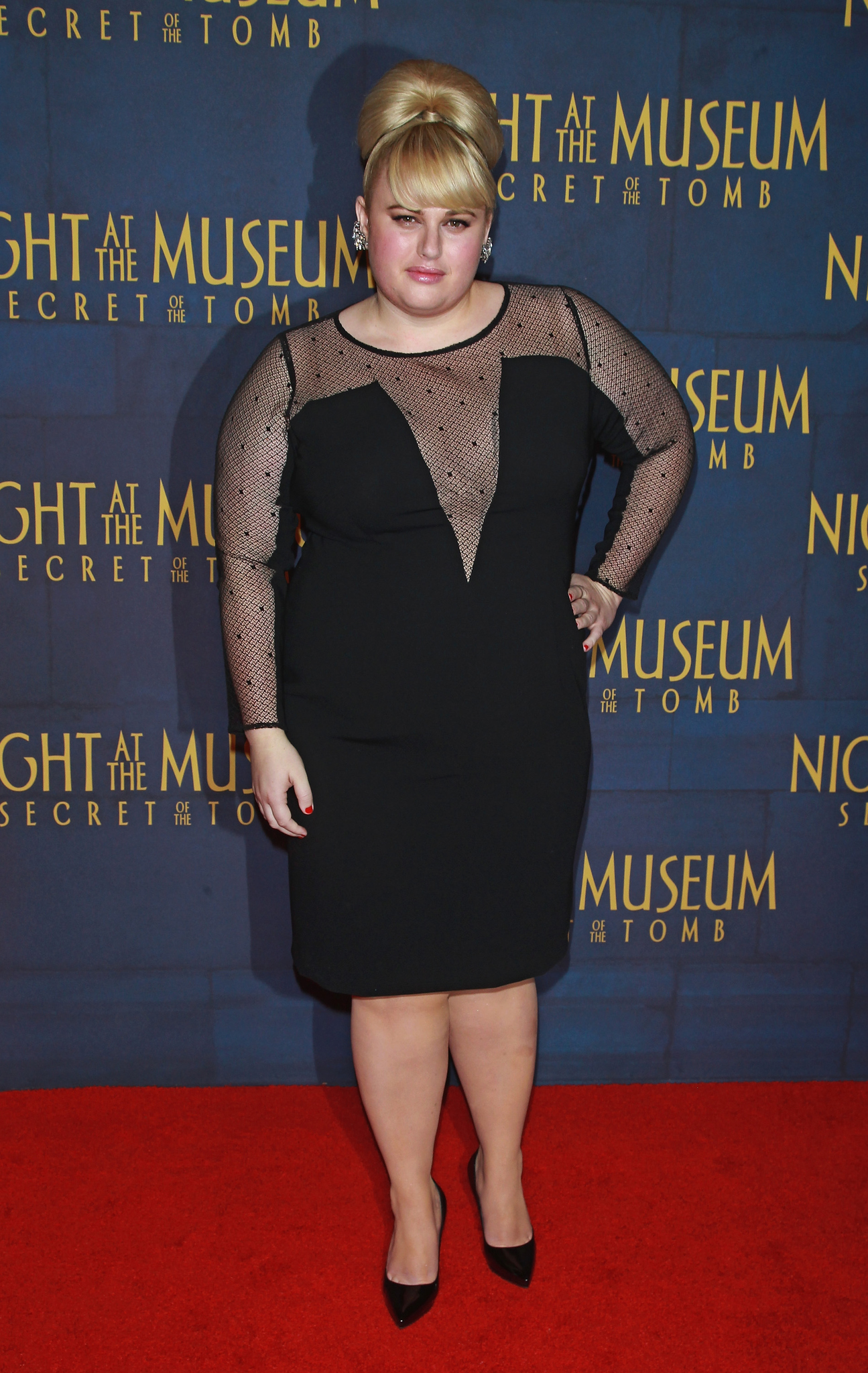 Rebel Wilson at an event for Night at the Museum: Secret of the Tomb (2014)