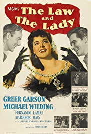 The Law and the Lady Poster